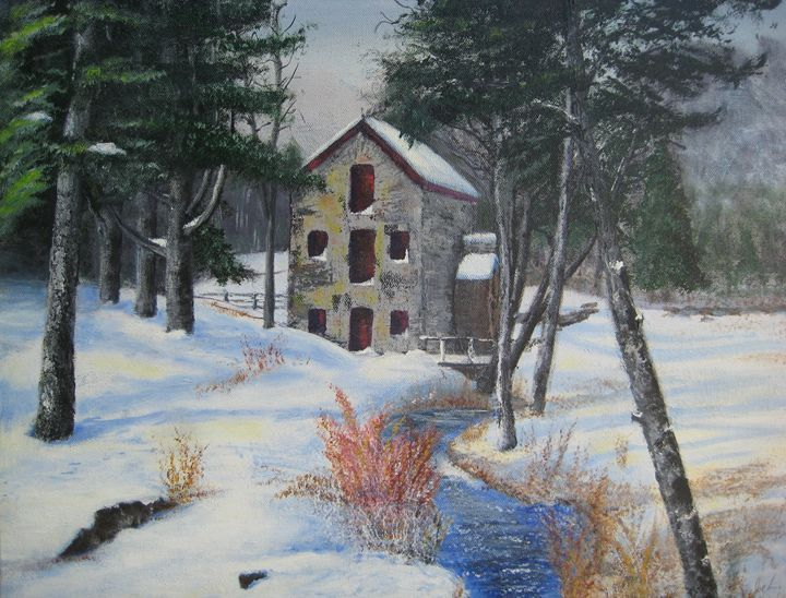 Grist Mill - Creative Artwork