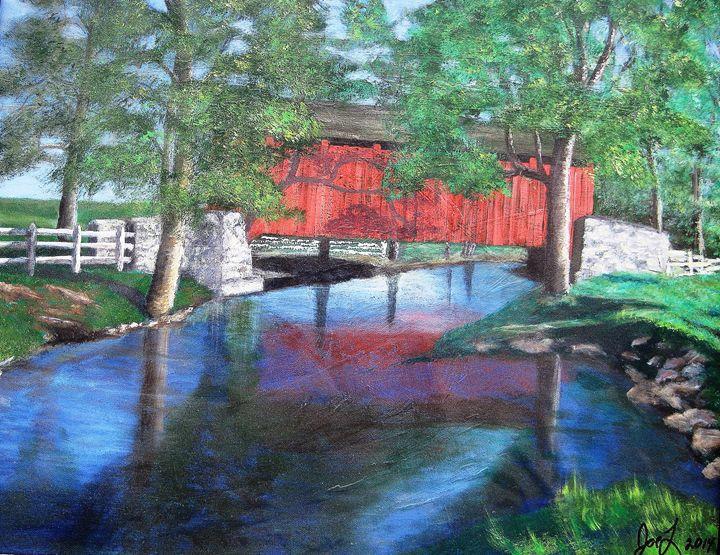 Covered Bridge - Creative Artwork