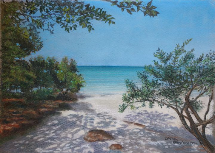 Crystal Beach Cove - Alice Artist Studio