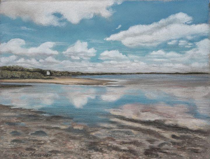 Low Tide in Safety Harbor - Alice Artist Studio