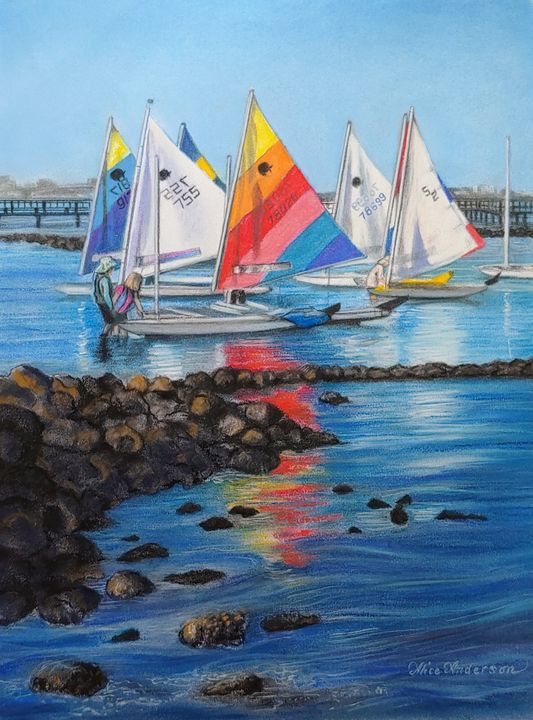 Windlasses Regatta - Alice Artist Studio