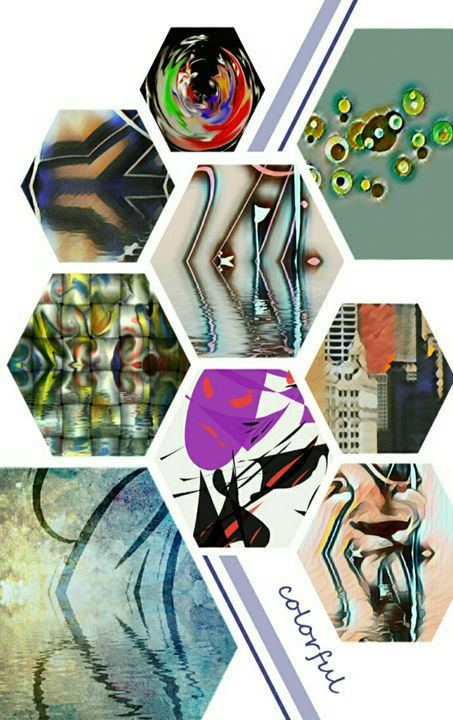Singleton M. Tate's Art Collage - Soldout