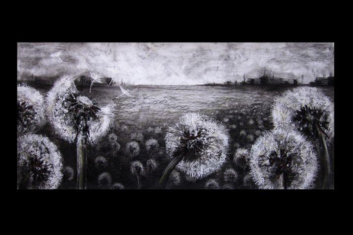 """Seeds in the Breeze"" - J. Jensen Artwork"