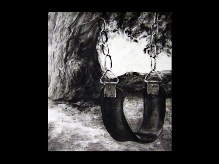 """Tire Swing"" - J. Jensen Artwork"