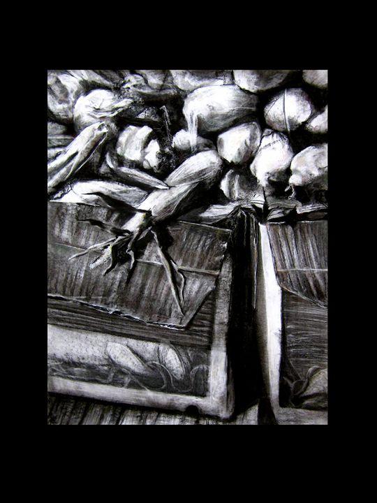 """Fruit Stand Corn"" - J. Jensen Artwork"