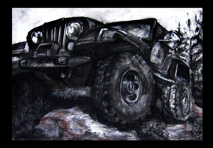 """Off Road"" - J. Jensen Artwork"