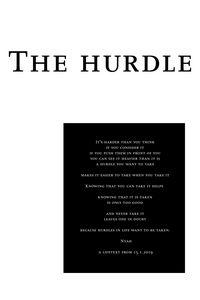 The hurdle
