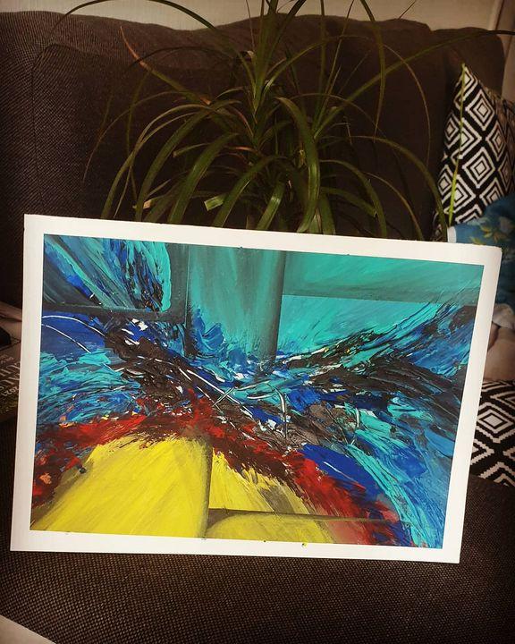 Vivid Acrylic Art - Nextstepcreativity
