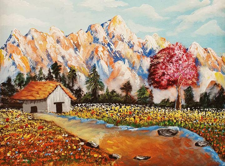 Landscape on Canvas - Nextstepcreativity