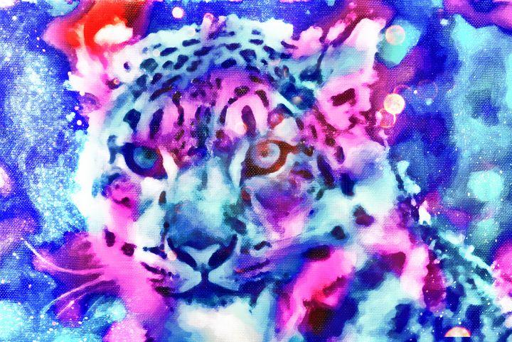 Colorful Tiger - fanaticcreationz