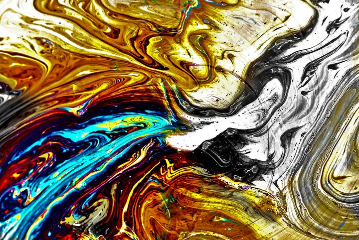 colorful waves - fanaticcreationz