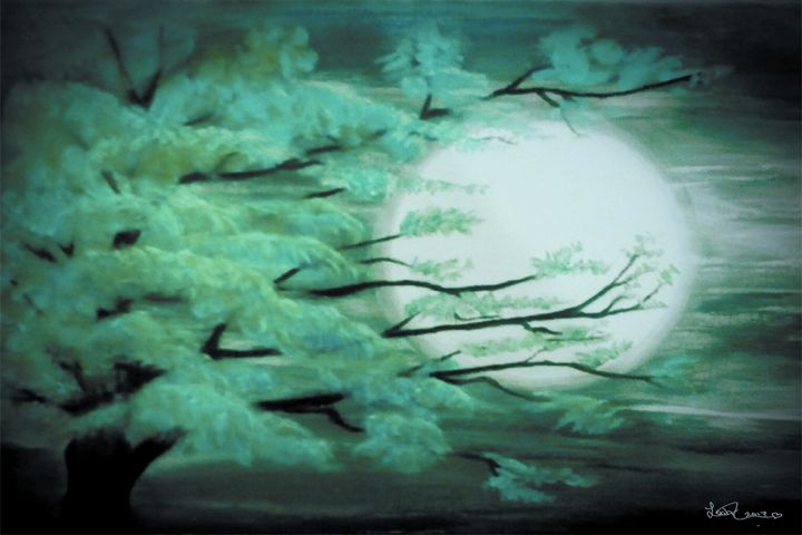 Mystical Moonlight - Blue Note Art