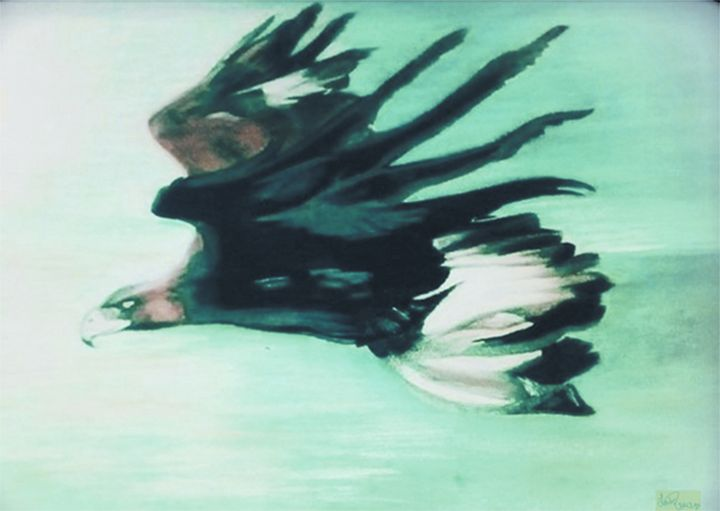 Eagle In Flight - Blue Note Art