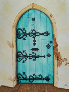 Iron Decor Door - Jessica's Art
