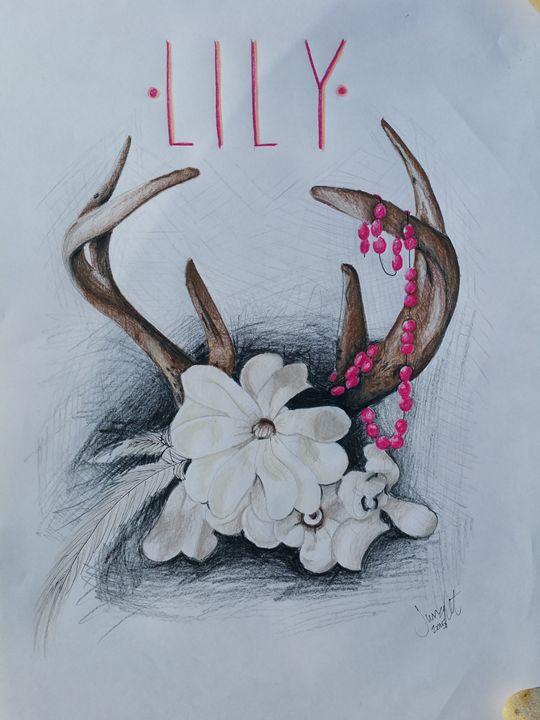 Antler Name - Jessica's Art