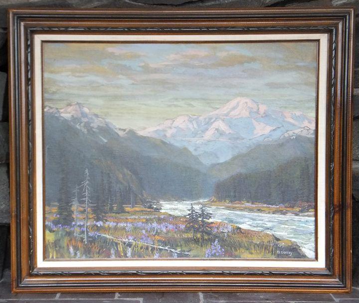 Mt. McKinley by William B. Dorsey - Brandtart