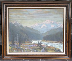 Mt. McKinley by William B. Dorsey