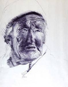 Tibetan old women