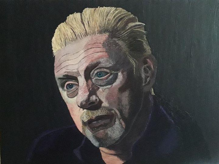 Portrait Boris Becker - Markus Baumann