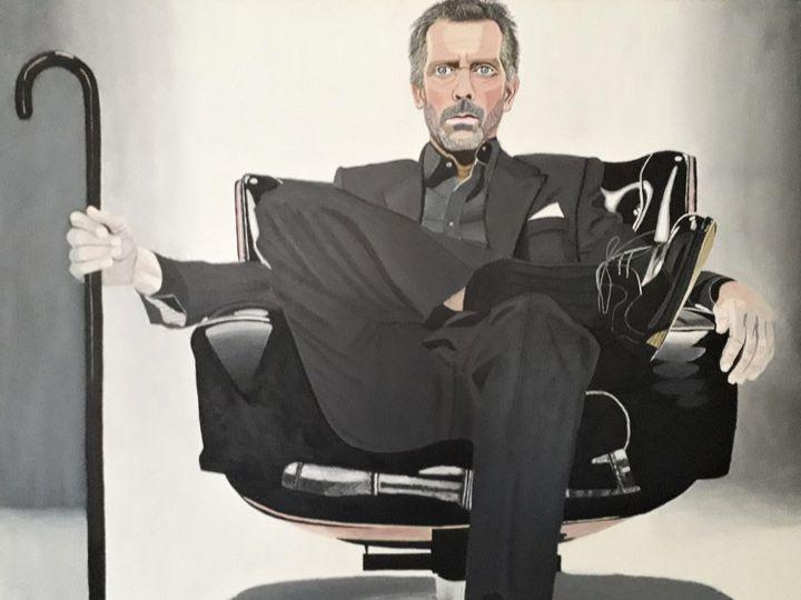 Acrylic Portrait - Markus Baumann