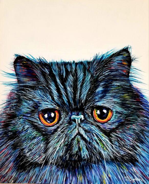 Persian Cat Selfie - Melissa Symons