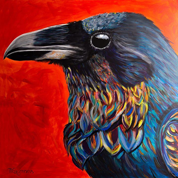 Glistening Raven - Melissa Symons