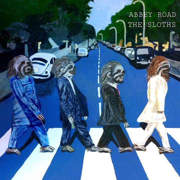 Abbey Road - The Sloths - Melissa Symons
