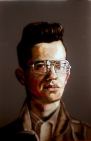 Young man with glasses - Paul Arts