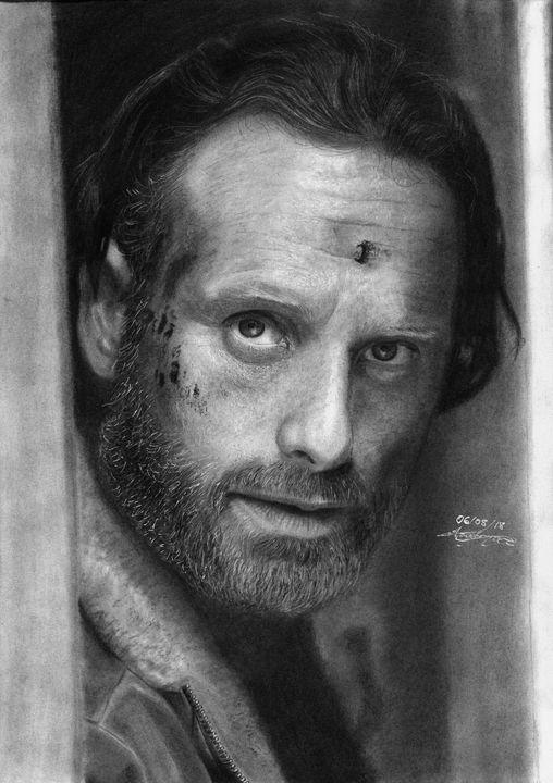 Rick Grimes - G. A. Art