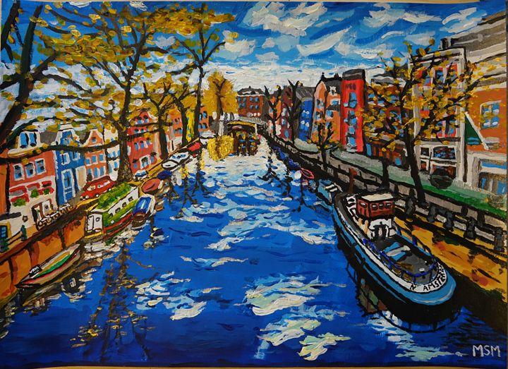 Amerdam Canal - Maciej Stuff