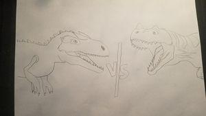 Alosaurus vs Ceratosaurus