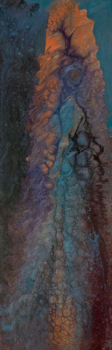 Fluid Art - Untitled #7 - DM GRACE Gallery