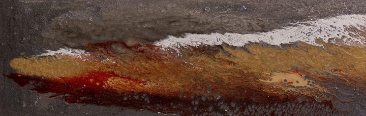Fluid Art - Untitled #5 - DM GRACE Gallery