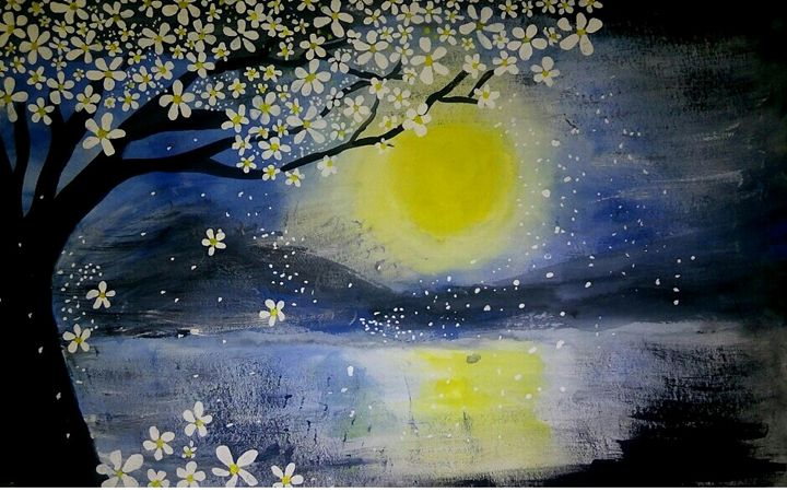 serenity of night - Amrita