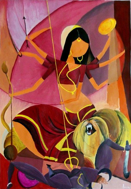Goddess Durga - Amrita