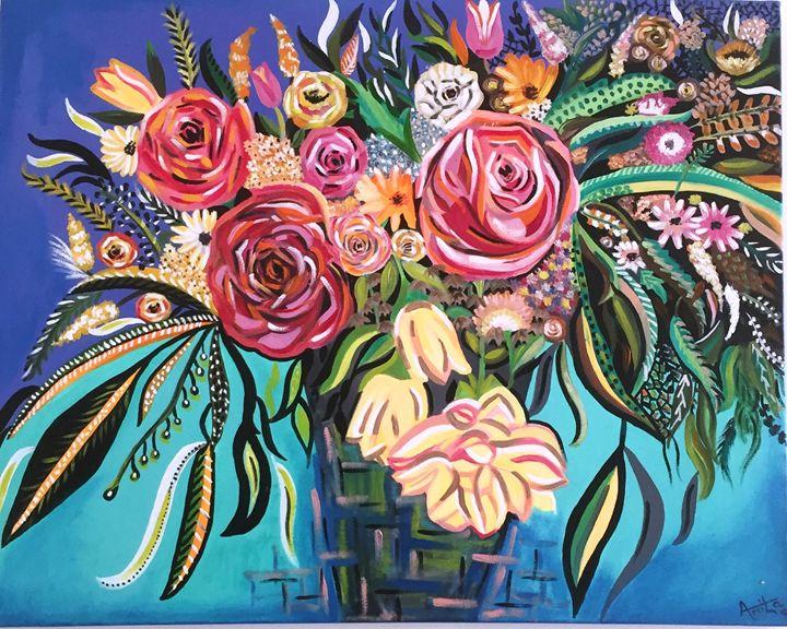 Flower Burst - Amita Dand