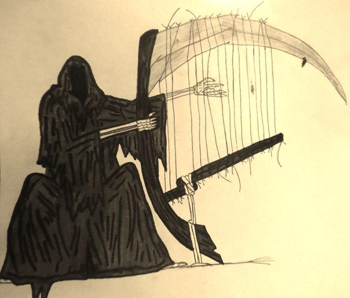 Death's Harp - Drawings