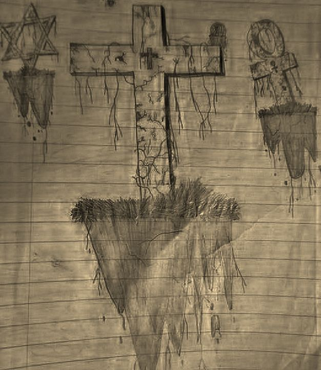 Religion Forsaken - Drawings