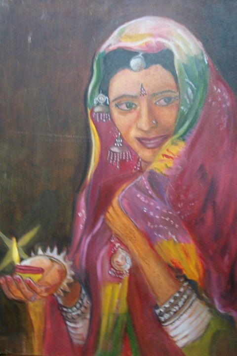 Lady with Lamp - Shikha Pugalia