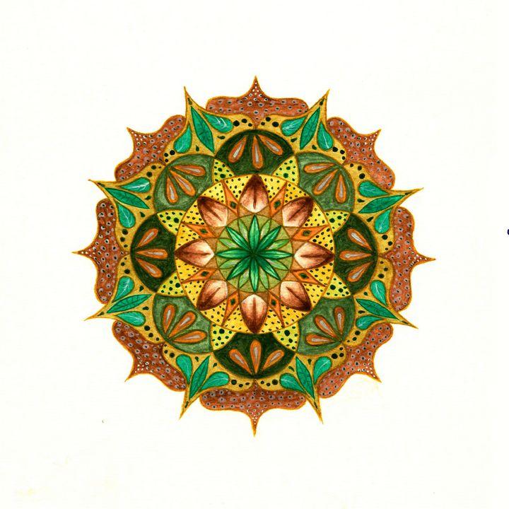 Spring Mandala - Love_Shirl