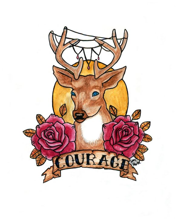 Courage - Love_Shirl