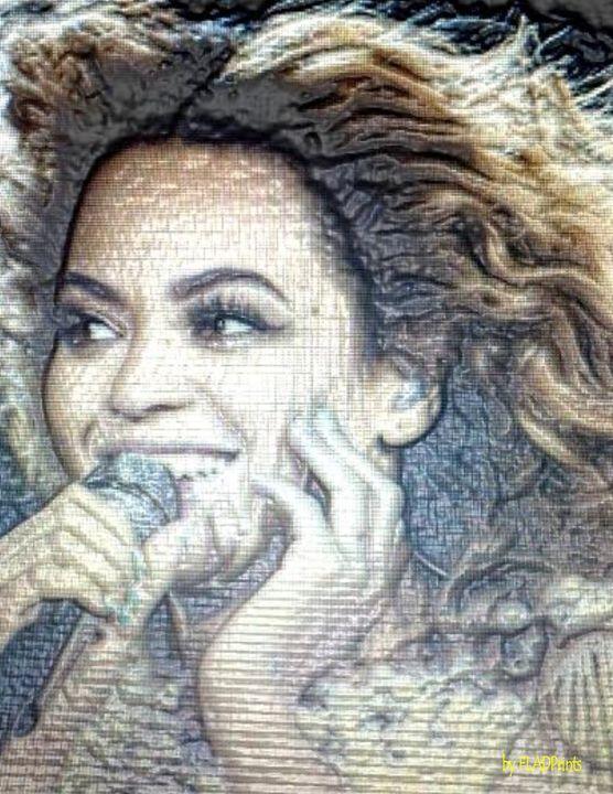 Beyonce Angelic - FLADPrints