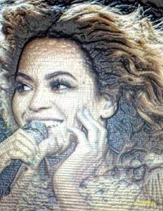 Beyonce Angelic