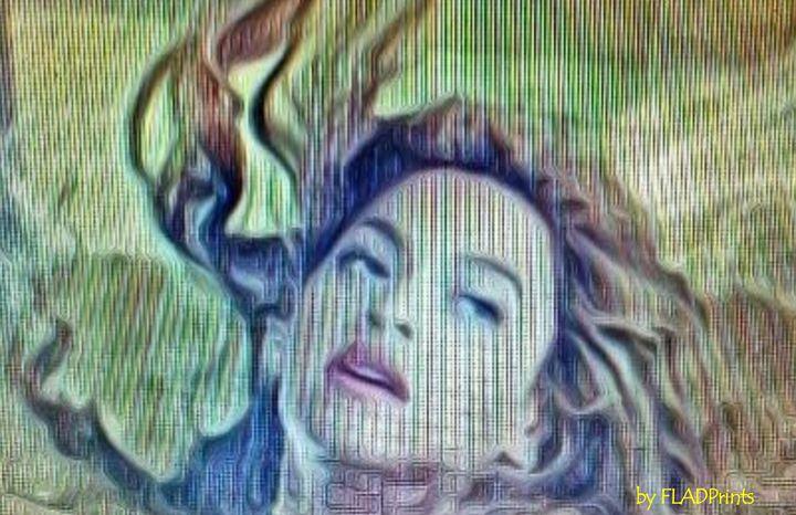 Beyonce Textured - FLADPrints