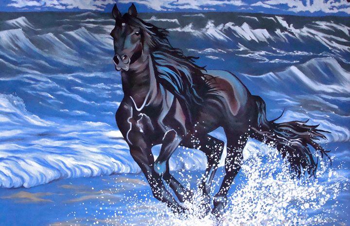 Black Horse - EarthArt