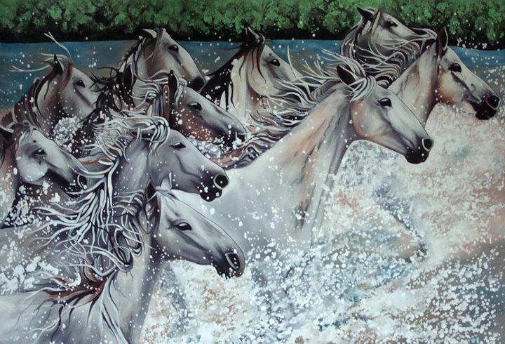 White Horses - EarthArt