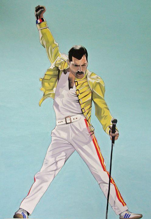 Freddie Mercury - EarthArt
