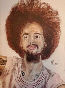 Self Portrait 3, Acrylic