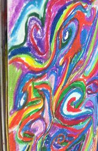 Modern art.. Color splashes