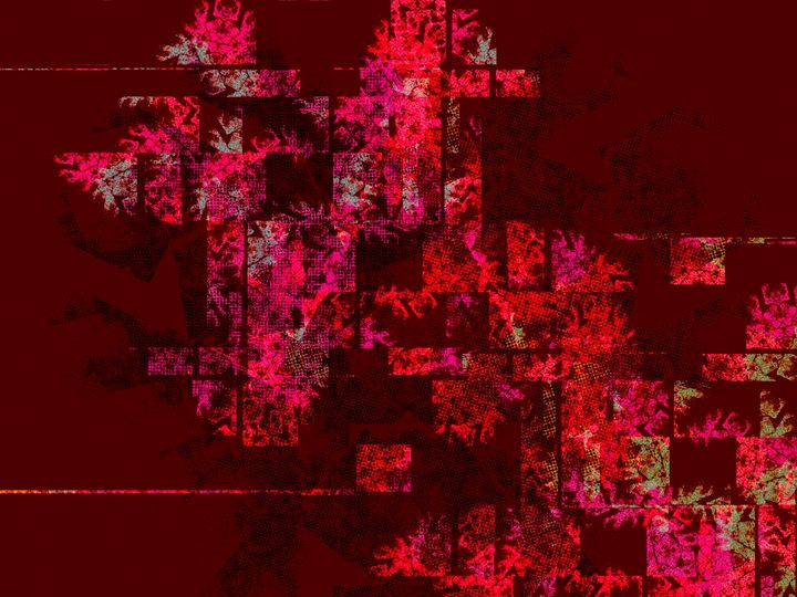 Luxurious Abstract Texture Red Pinot - casualforyou